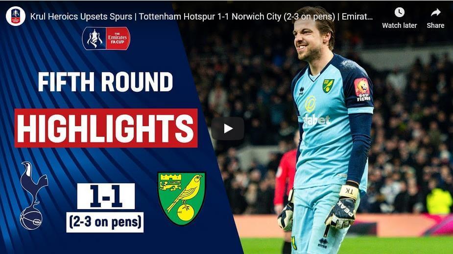 Tottenham Norwich