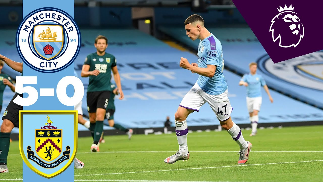 Man City 5-0 Burnley