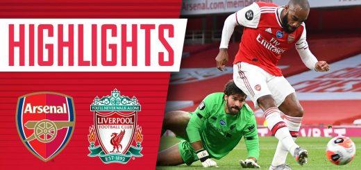 Arsenal 2-1 Liverpool 2019-20