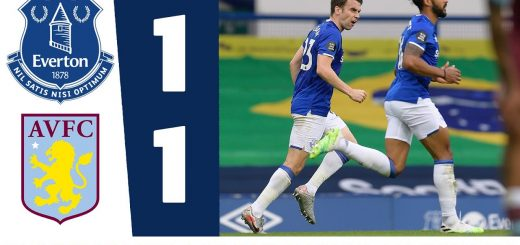 EVERTON 1-1 ASTON VILLA