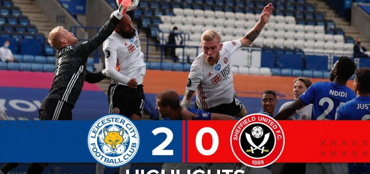 Leicester 2-0 Sheffield