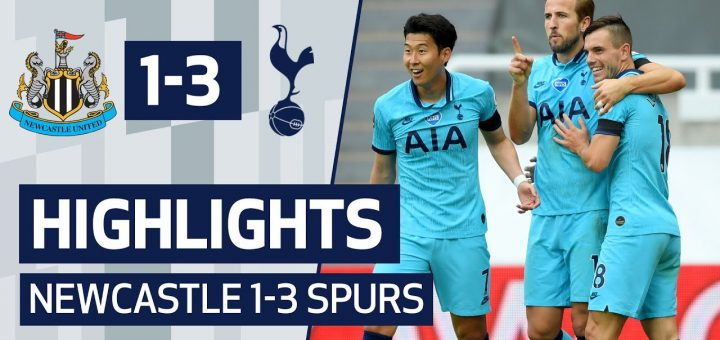 Newcastle 1-3 Tottenham