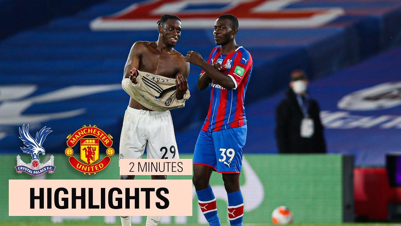 Palace 0-2 Man Utd