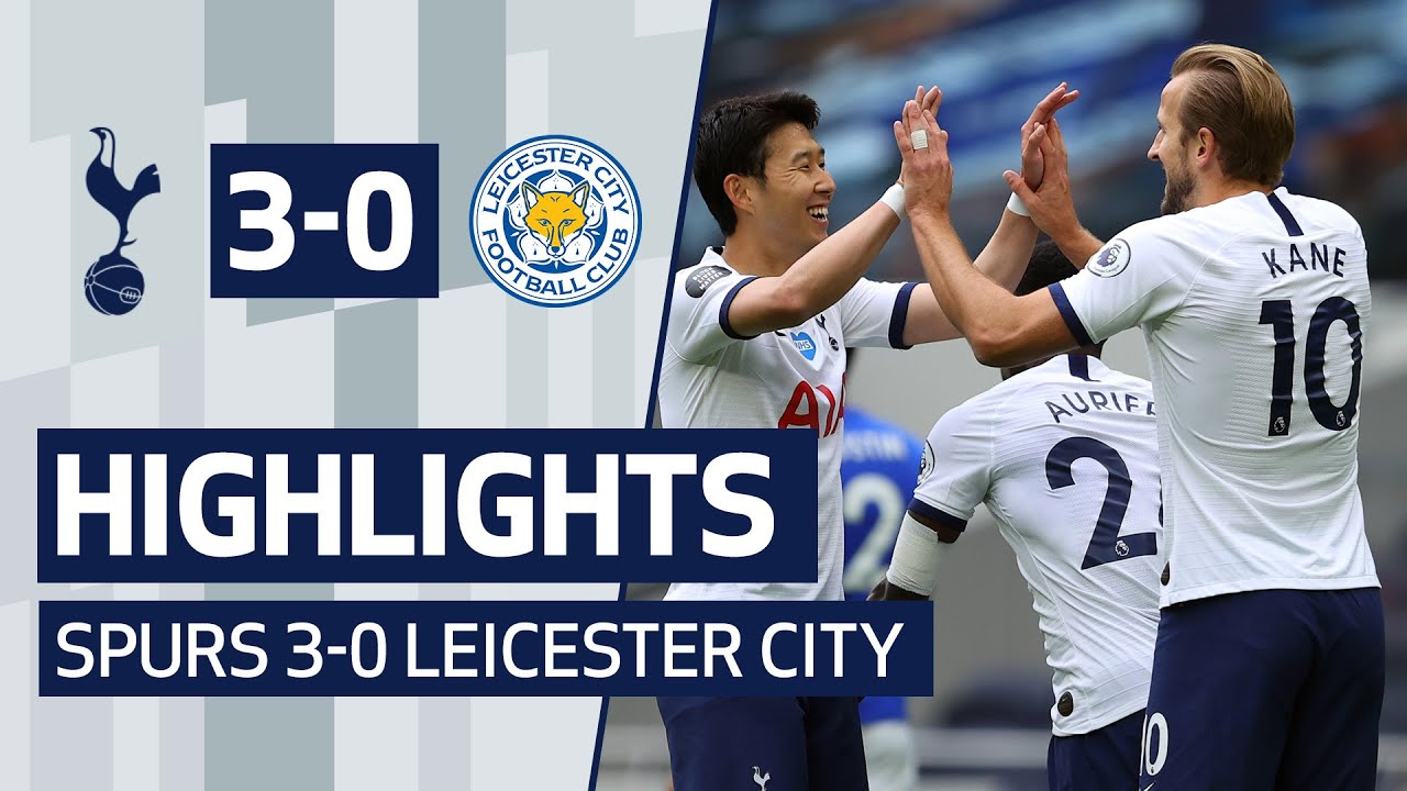 Tottenham 3-0 Leicester City
