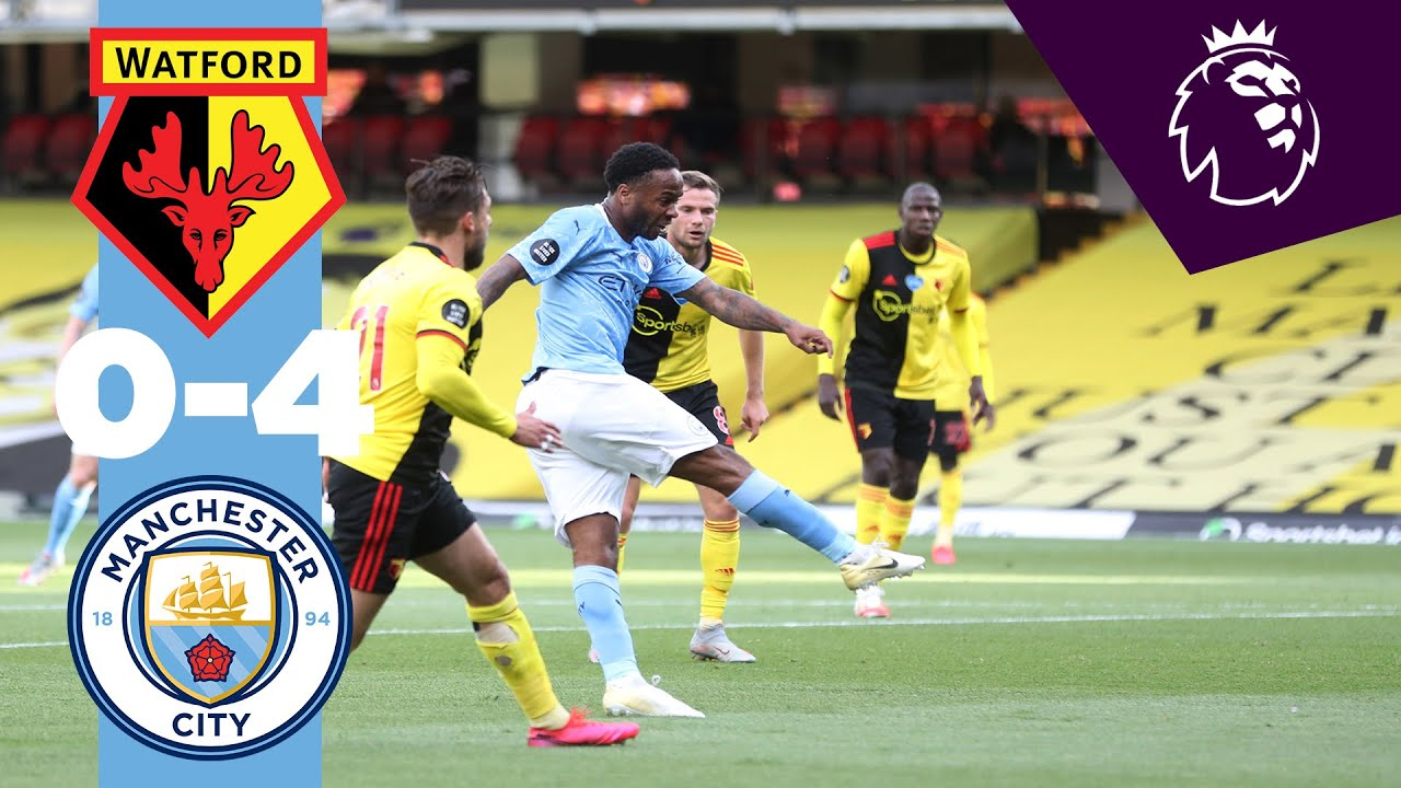 Watford 0-4 Man City