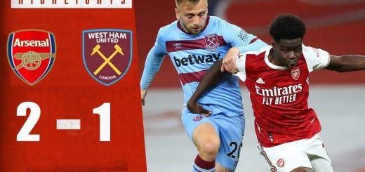 Arsenal 2-1 West Ham