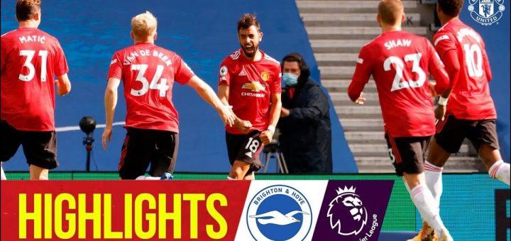 Brighton 2-3 Man Utd