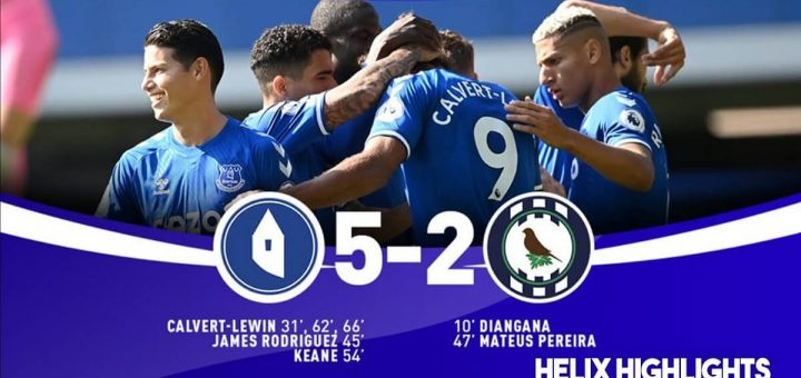 Everton 5-2 West Brom