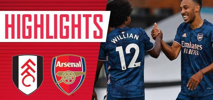 Fulham 0-3 Arsenal