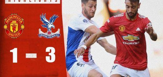 Man Utd 1-3 Crystal Palace