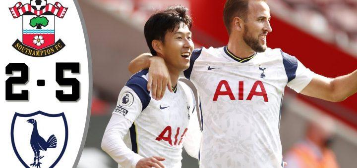 Southampton 2-5 Tottenham