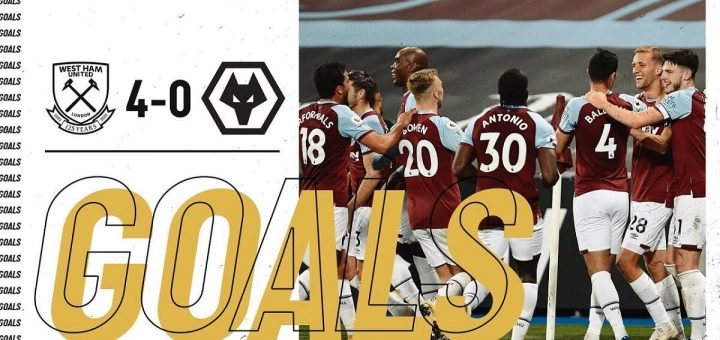 West Ham 4-0 Wolves