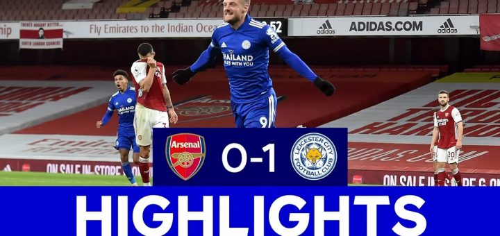 Arsenal 0-1 Leicester