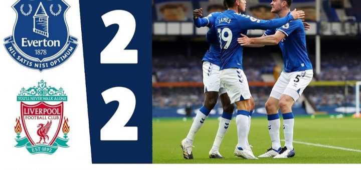 Everton 2-2 Liverpool