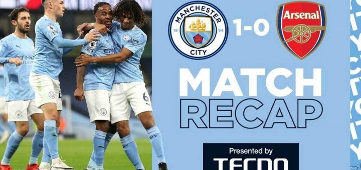 Man City 1-0 Arsenal
