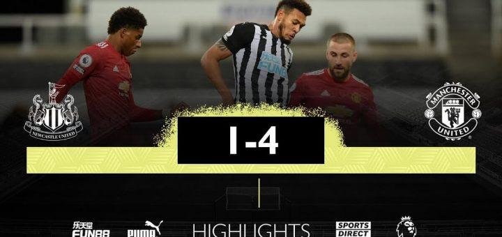 Newcastle 1-4 Man utd