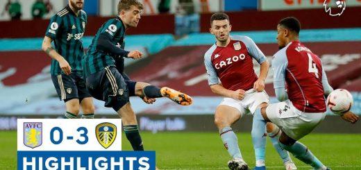 Aston Villa 0-3 Leeds United