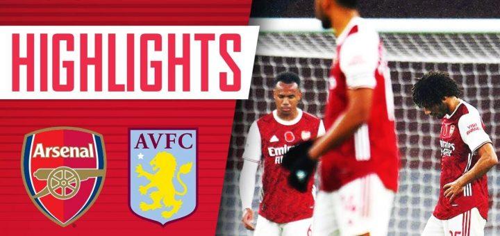 Arsenal 0-3 Aston Villa
