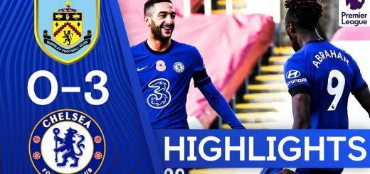 Burnley 0-3 Chelsea