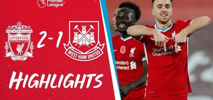 Liverpool 2-1 West Ham