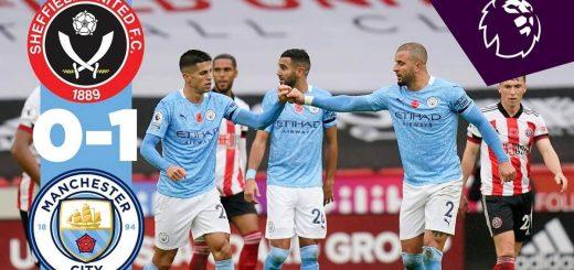 Sheffield 0-1 Man City